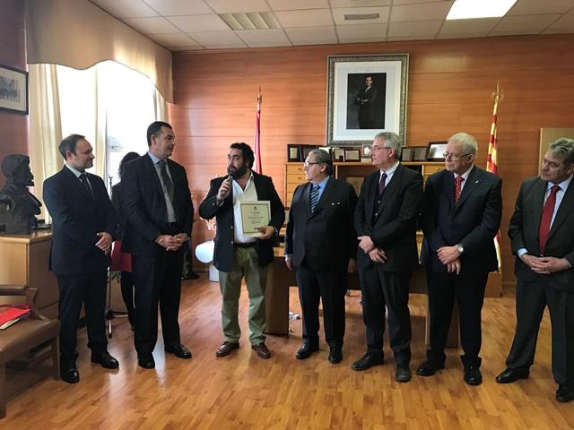 Tambien fue homenageada la figura de Don Pascual Herrera, recientemente fallecido. Su hijo, Manuel Herrera, agradeció el detalle con unas emotivas palabras.